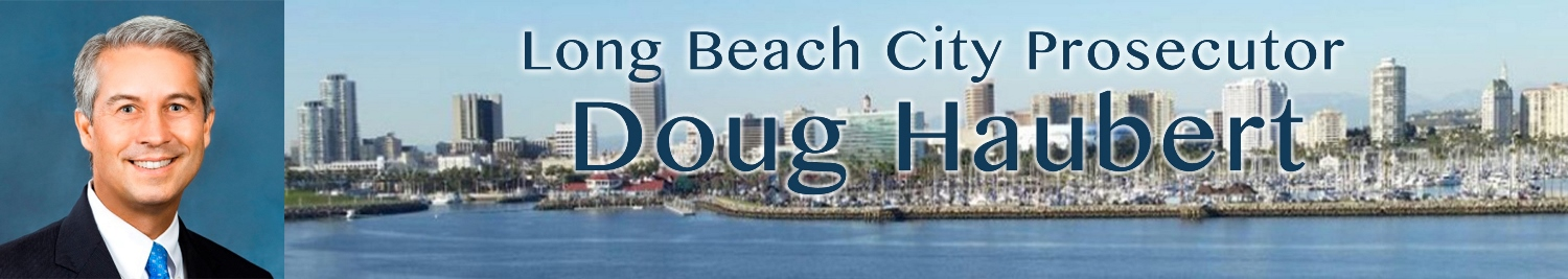 Long Beach City Prosecutor Doug Haubert